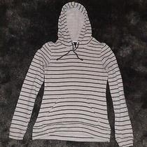 Oakley Hoody Size Xs Sweater Jumper Cream & Grey Very Comfy. Hoodie Photo