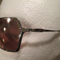 Oakley Inmate Aviator Sunglasses  Polished Chrome  Flaws  Photo