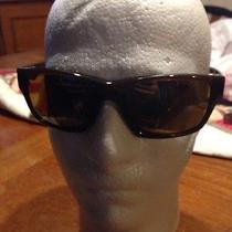 Oakley Jupiter Carbon Sunglasses Dark Ale/ Turngsten Iridium  Photo
