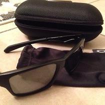 Oakley Jupiter Squared Polarized Sunglasses Matte Black Photo