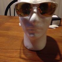 Oakley Jupiter Sunglasses White/ 24k Iridium  Photo