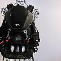 Oakley Kitchen Sink Backpack Black Metallic Tactical Laptop Pack Used Once Photo