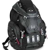 Oakley Kitchen Sink Backpack Mx Cycle Bag Rucksack 34l 92060 Black Chrome   Photo