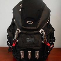 Oakley Kitchen Sink Heavy Duty Backpack Black New   Photo