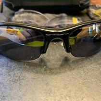 Oakley Livestrong Flak Sunglasses Comes With 4 Sets of Lenses and Case Photo
