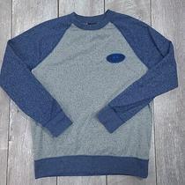 Oakley Local Fleece Crew Sweatshirt Mens Medium Blue Regular Pullover Sw217 Photo