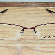 Oakley Men Prescription Eyeglasses Frame  Wingback - Brick - Ox5089-0453 Photo