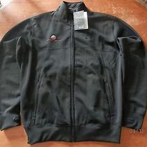 Oakley Men's Large Tustin Ranch Golf Club Sq O Protection Crew Black Golf Jacket Photo