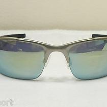 Oakley Men Sunglasses  Wiretap - Light - Emerald Iridium Polarized Photo