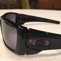 Oakley Mets Fuel Cell Sunglasses 009096 Polished Black W/ Black Irid Photo