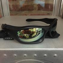 Oakley Monster Dog Matte Black Emerald Lenses Sunglasses Fast Free S/h Photo