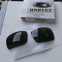 Oakley Oil Drum Dark Grey Replacement Lens Kit Original Box Photo