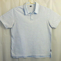Oakley Polo Shirt Men's Xl Multi-Color Striped Short Sleeve  Photo