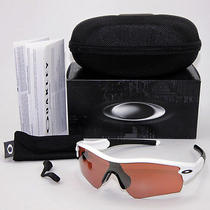 Oakley Radar Path 09-762 New in Box Polised White/ Vr28 Blk Iridium Photo