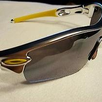 Oakley Radar Path Sunglasses - Polished Silver Frame & Silver Mirrored Lenses Photo
