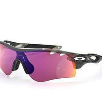 Oakley Radarlock Sunglasses Grey Smoke / Prizm Road Oo9181-48 Authentic New Photo