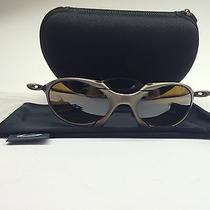 Oakley Romeo 1 Sunglasses X Metal Plasma Bronze Iridium Polarized Low Serial  Photo