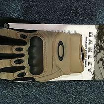 Oakley Si Assault Tactical Factory Pilot Glove New Khaki New Improved Style 2015 Photo