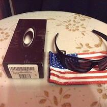 Oakley Si Fuel Cell Matte Black/grey Us Flag Icon Photo