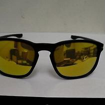 Oakley Sunglasses Enduro Matte Black Frame Gold 24k Iridium Lenses Oo9223-04 Photo