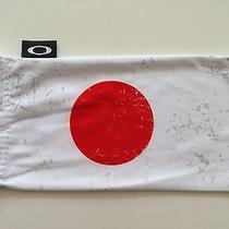 Oakley Sunglasses Microfiber Cleaning Bag Japan Flag Photo