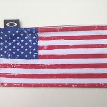 Oakley Sunglasses Microfiber Cleaning Bag Usa Flag Photo