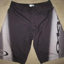 Oakley Surfing Surf Board Black Shorts Mens 32w 32 Waist Photo