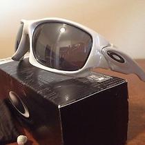 Oakley Ten White Chrome Sunglasses Photo