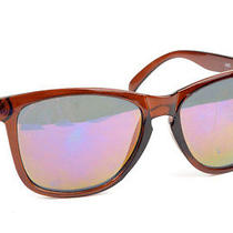 Oakley Vintage 8905 Frogskins Brown Metal Hinges Mens Sunglasses Photo