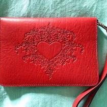 Oberon Design Leather Wristlet