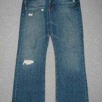 Oc01408 Lucky Brand Dungarees Fender Jean Boot Cut Jeans 35x33 Photo