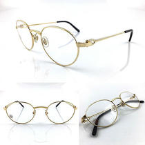 Occhiali Cartier Writer Pantos T8100883 Eyeglasses 18kt Gold Plated Photo