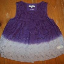 Odd Molly Anthropologie 0 Xs Purple Eyelet Ombre 600 Surprising Myself Tank Top  Photo