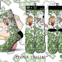 Odd Sox Socks Family Guy Best of Stewie & Brian Paper Chaser Be Odd New  Photo