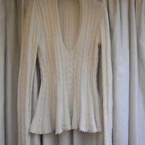 Off White Jumper Alexander Mcqueen Wool Medium Photo