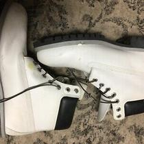 Off White Timberland Boots Size 11 M Men's Photo