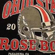 Ohio State T Shirt Rose Bowl Football Helmet 2010 Pasadena Medium Free Shipping Photo