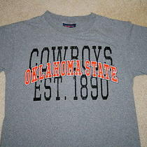 Oklahoma Cowboys Jansport Gray Shirt T Shirt Mens Small S Looks Great Soft Photo