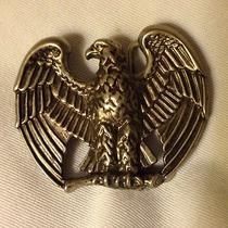 Old Avon American Bald Eagle Patriotic Belt Buckle Photo