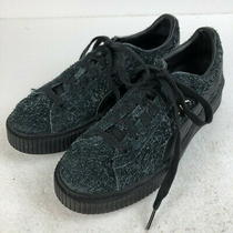 Old Clothes Puma Sneakers Suede Platform Elemental Black System Men's 2 no.70822 Photo
