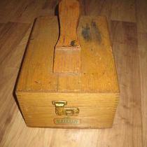 Old Griffin Shinemaster Shoe Shine Box  Photo