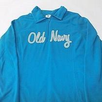 Old Navy 3/4 Zip-Up Sweatshirt Size X-Large Photo