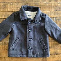 Old Navy Baby Boys 12-18 Month Gray Peacoat Photo