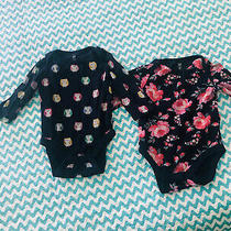 Old Navy Baby Girls 2-Pack Floral One-Piece  12-18m Photo