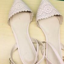 Old Navy Blush Cut Out Ballet Flats Size 10 Photo