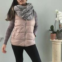 Old Navy Blush Pink Puffer Vest Jacket Size Medium - Shipped With Usps Priority Photo