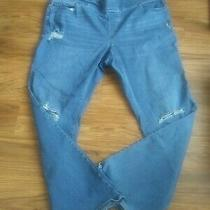 Old Navy Boot Cut Jeans Distressed Stretch Plus Size 20  Photo