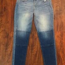 Old Navy Boyfriend Skinny Slim Denim Jeans Size 4 Stretch Medium Wash  Photo