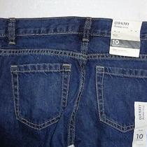 Old Navy Boys Jeans Pants Size 10 Slim/standard Photo
