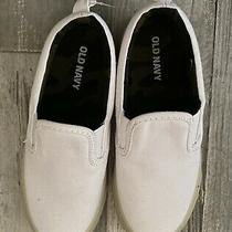 Old Navy Boys Shoes Size 12 New Nwt Slip on Sneakers White Camo Camouflage Photo